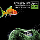 Photoshop jigster.com promo graphics