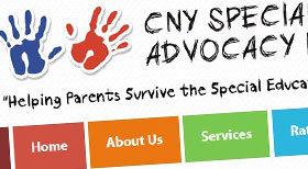 CNY Special Needs Advocacy Joomla 2.5 CMS Website