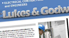 Lukes and Godwin  Website designed using HTML